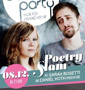 Die Schöne Party am 08.12.2018 - mit Poetry Slam
