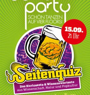 Die Schöne Party am 15.09.2018 - Die Schöne Quiz Party