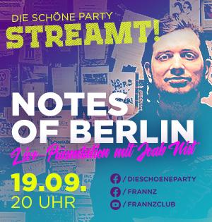 Die Schöne Party am 19.09.20 - Die Schöne Party ohne Party im Livestream