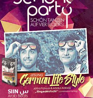Die Schöne Party am 27.10.2018 - mit German LifeStyle (Lesung)