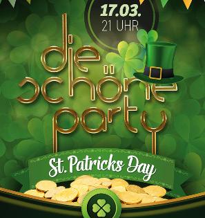 Die Schöne Party am 17.03.2018 - zum St. Patricks Day