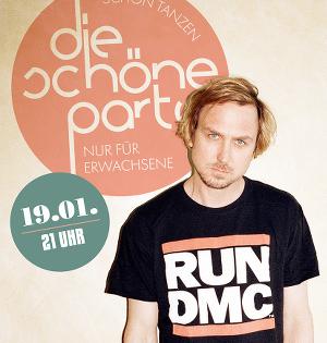 Die Schöne Party am 19.01.19 - Houswarmingparty im Frannz mit Lars Eidinger (Gast-DJ-Set)