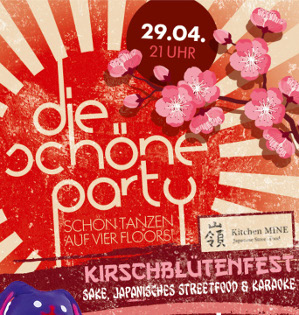 Die Schöne Party am 29.04.2017 - Kirschblütenfest - Hanami